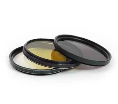Camera lens filters